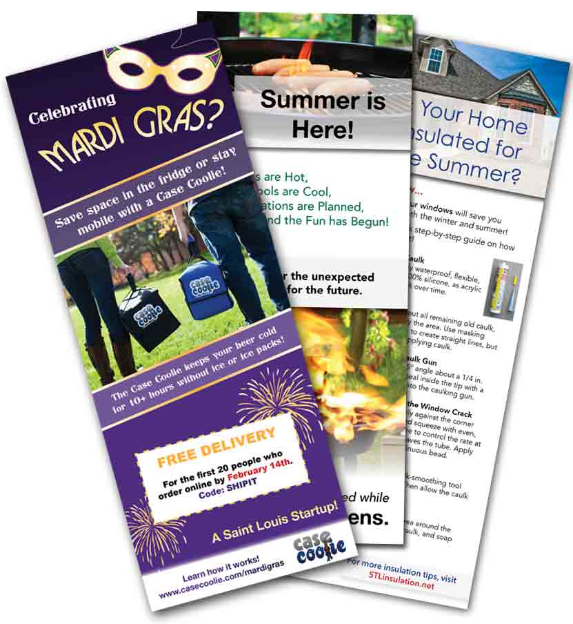 How Flyers Can Make Your Business Local Famous   Connect Marketing